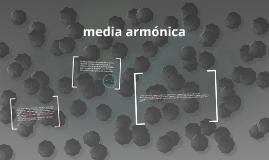 La media armónica es un promedio muy útil en conjuntos de nú