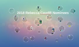 2018 Rebecca Caudill Nominees