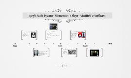 Şeyh Sait-Menemen-Atatürk'e Suikast