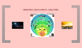 My Personal Ecological Analysis