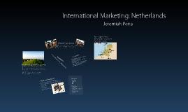 International Marketing: Netherlands