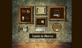 Copy of Cuenta de Ahorros