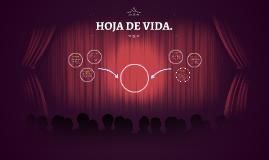HOJA DE VIDA.