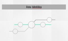 Arena  hidrofóbica