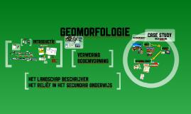 Geomorfologie Opstart
