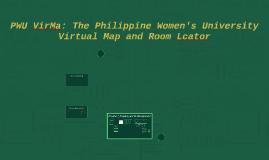 Copy of PWU VirMa: The Philippine Women's University Virtual Map and