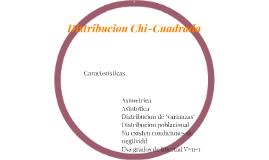 Distribucion Chi-Cuadrada
