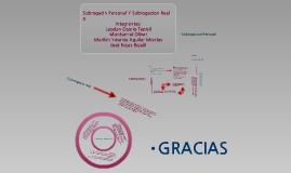 Copy of Subrogación Real y Subrogación Personal