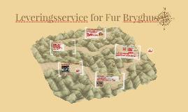 Leveringsservice for Fur bryghus