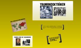 Truman's kamp mot kommunismen