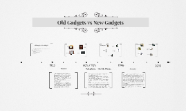 Copy of Old Gadgets vs New Gadgets