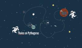 Thales en Pythagoras
