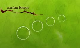 ancient basque