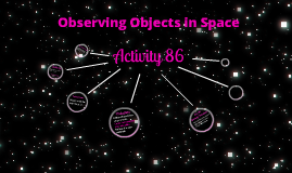 Activity 86 - Observing Objects in Space