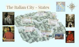 The Italian City - States