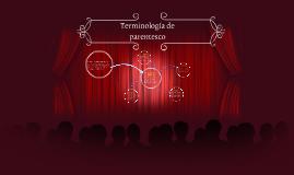 Copy of Terminología de parentesco