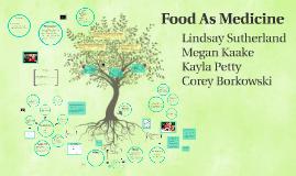 Copy of Food As Medicine
