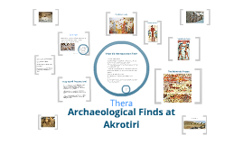 Thera: The Archaeological Finds at Akrotiri