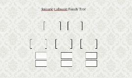 Jomarie Calasanz Family Tree