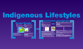 Indigenous Lifestyles