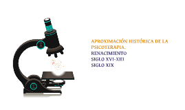 Copy of APROXIMACIÓN HISTÓRICA DE LA PSICOTERAPIA.