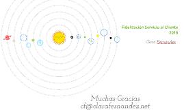 Copy of Fidelización Servicio al Cliente