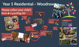 Year 5 Residential - Woodrow