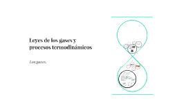Leyes de los gases y procesos termodinámicos