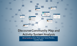 Discouse Community Map and Activity System Analysis