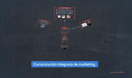 Comunicación integrada de marketing.