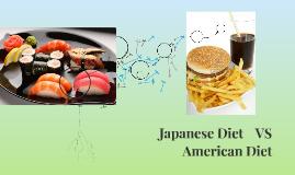 American Diet vs Japanese Diet