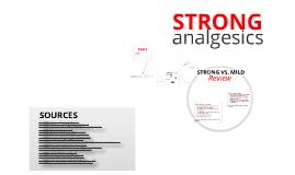 Strong Analgesics