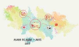 Plano de ação  - Arte   2017