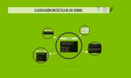 Copy of CLASES DE VERBOS