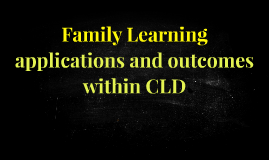 Family Learning June 2016