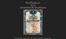 Acta Fundación