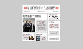 """La Controverse des """"Sarkoleaks"""""""