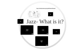 Jazz History for Non-Majors presentations