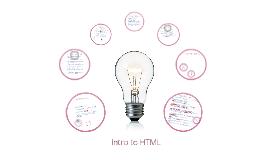 Website Development - Intro to HTML