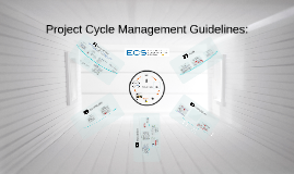 Copy of EU Project Cycle Management
