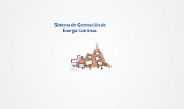 Movimiento y sistemas de Generación de Energía Continua