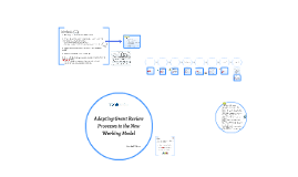 Adapting Grant Review Processes to the New Working Model