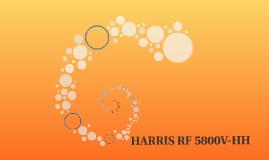 Harris RF 5800V-HH