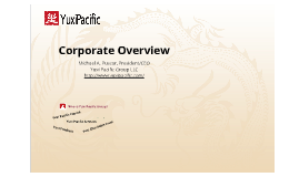 Yuxi Pacific Group
