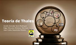 Teoría de Thales