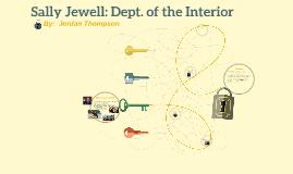 Sally Jewell: Dept. of the Interior