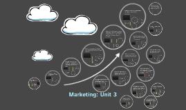 Marketing: Unit 3