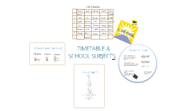 Timetable & school subjects