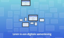 Effectiever leren in een digitale samenleving