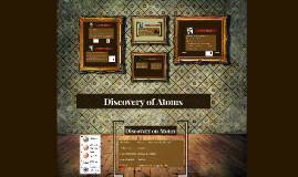 Discovery of Atoms
